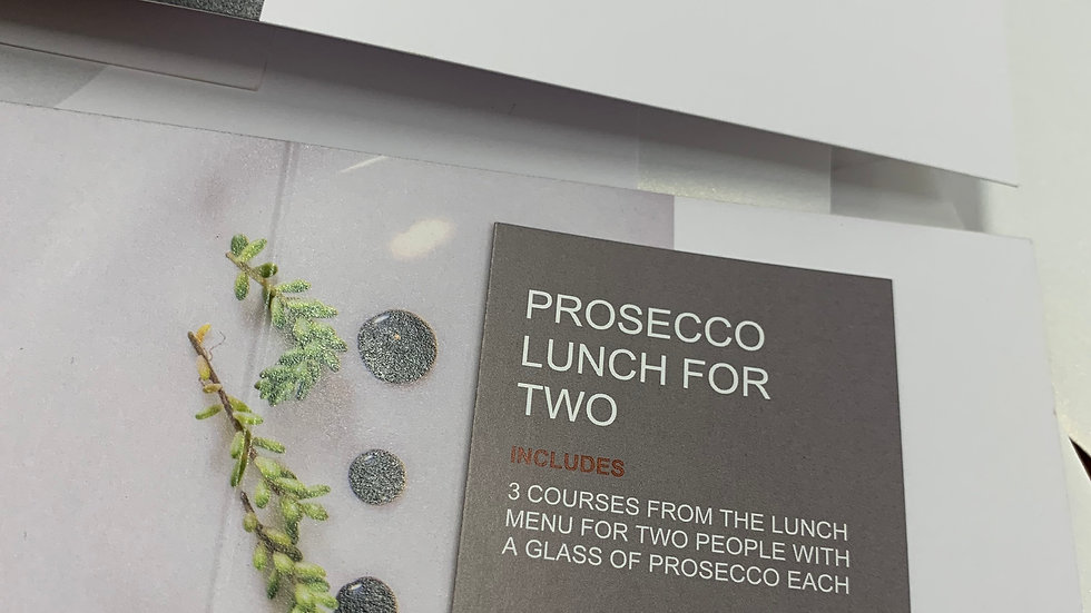 Prosecco Lunch For Two