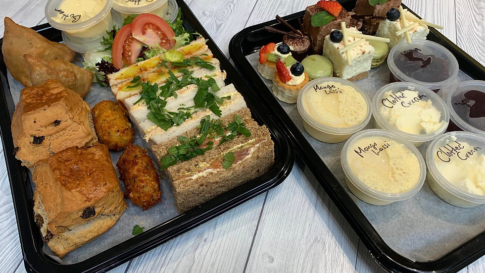 Afternoon Tea Home Delivery For Two