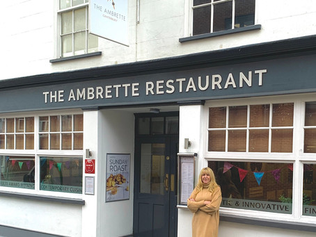 Lesley from The Ambrette, monthly column in The Kent Foodie