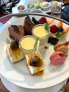 Ambrette afternoon high tea menu