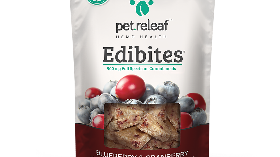 Edibites Full spectrum Pet Treats IMMUNITY BOOST & STRESS