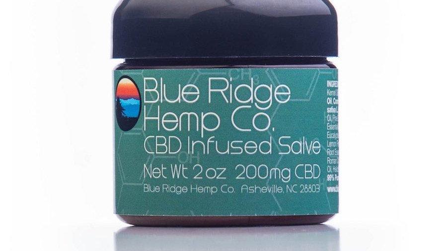 Blue Ridge Co CBD Infused Salve