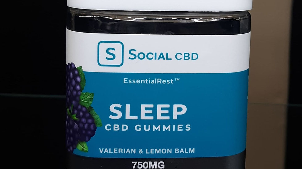 "Social CBD Gummies ""Sleep"""