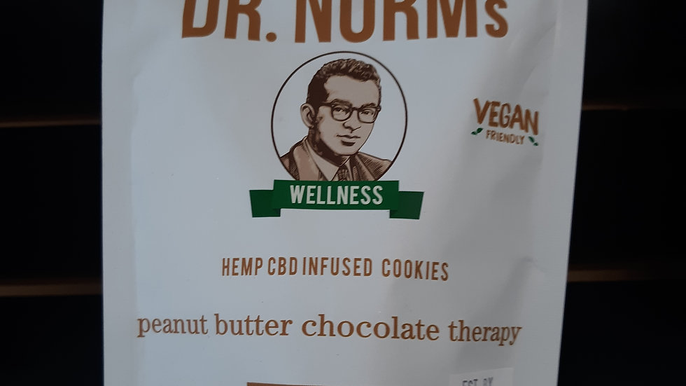 Dr Norms Peanut butter chocolate therapy cookies