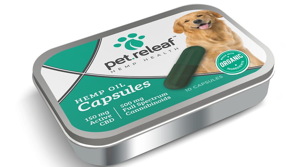 Pet Releaf Hemp Oil Capsules