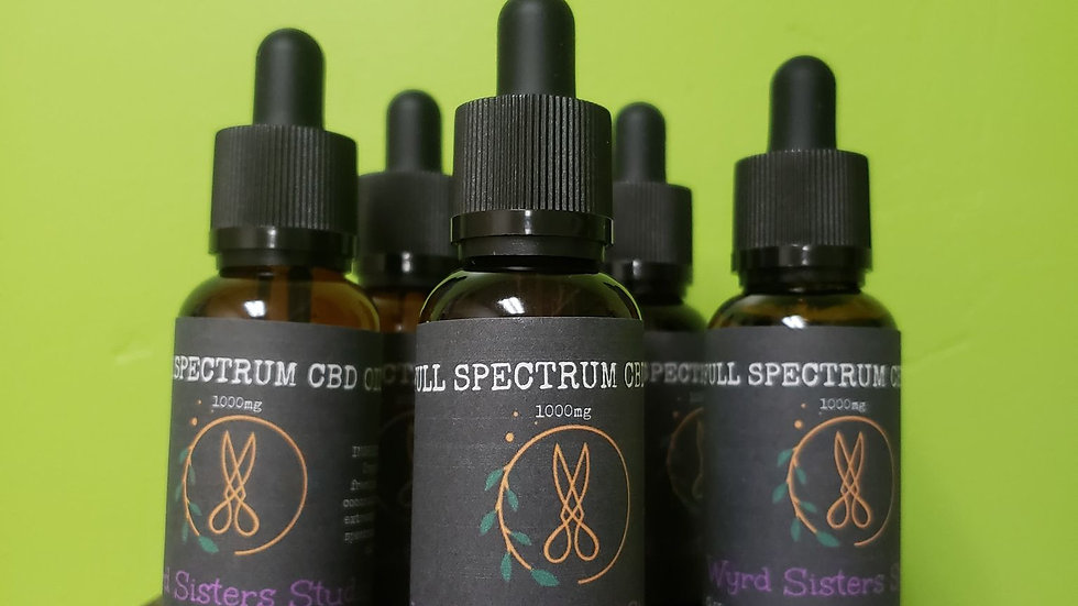 Wyrd Sister Studio Full Spectrum CBD Oil