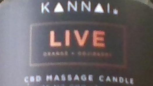 Kannai massage candle