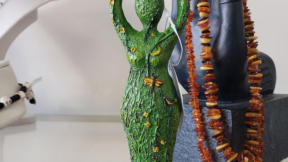 green Goddess tealight holder