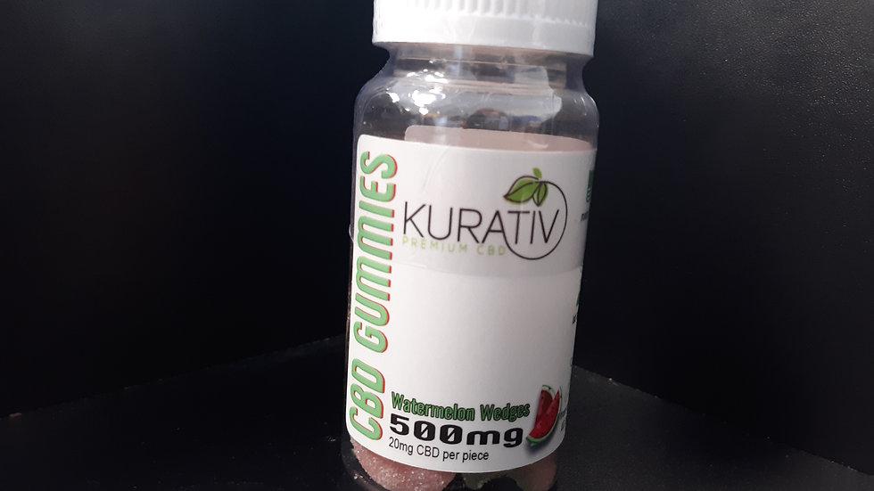 Kurativ Watermelon gummies