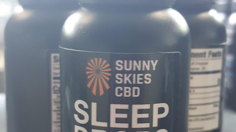 Sunny Skies CBD Sleep Drops 1500mg