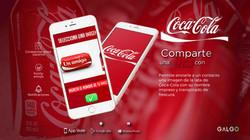 GALGO aplicacion coca cola
