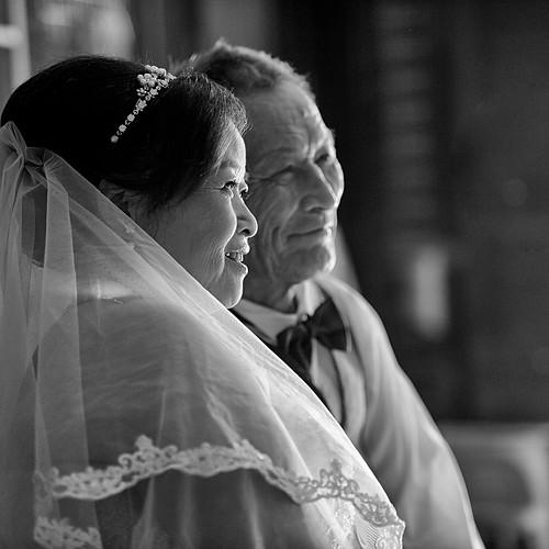 蔡爸媽結婚紀念婚紗