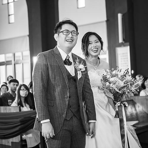 致穎&思槿 教堂婚禮