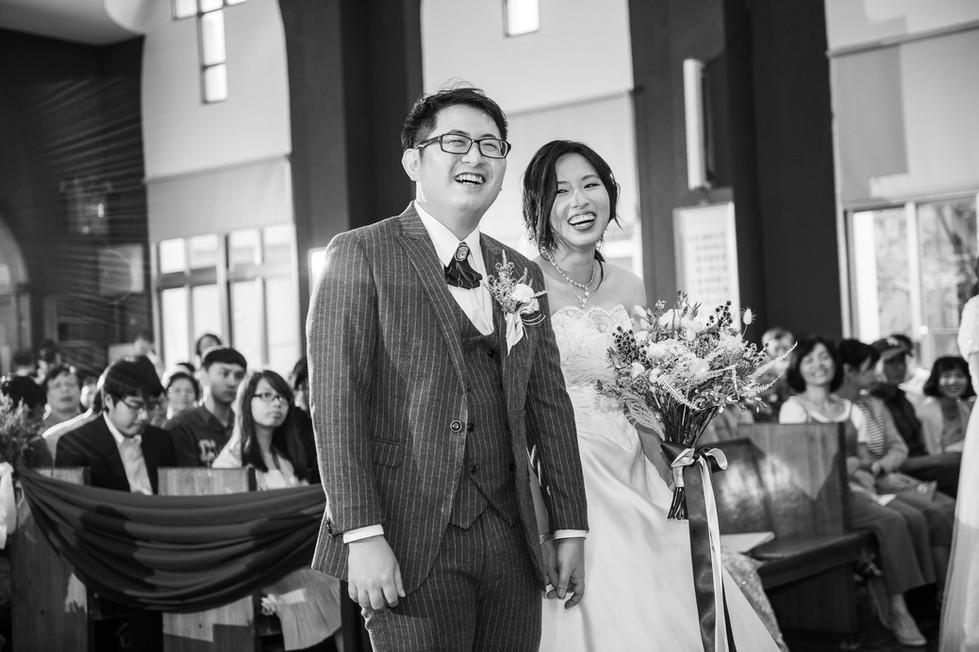 教堂婚禮婚攝Toby