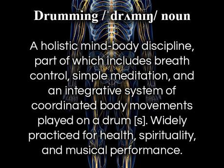 Drumming Defined