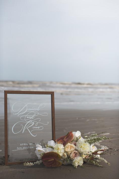 Wedding Welcome Sign Glass Beach.jpg