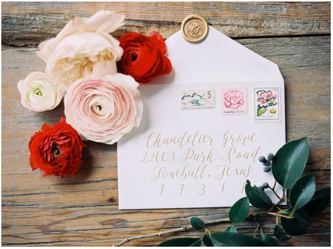 Gold Calligraphy Wedding Envelope Address.png