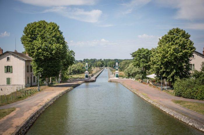 Perspective sur la Maison du Pont Canal
