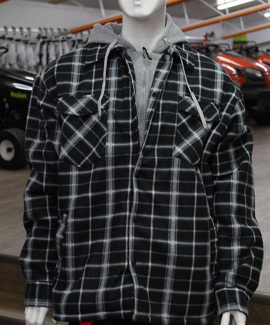 Manteau à carreaux Ganka