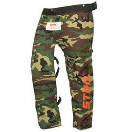 Jambières camouflage Stihl 2600 STANDARD protection avant sulement