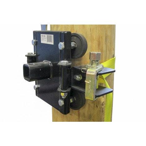 Système d'ancrage pour arbres et poteaux PCA-1263 Portable Winch
