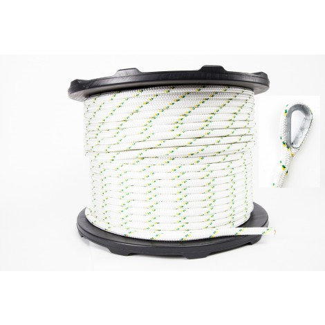 Corde de polyester PC-1216M2ESC Portable Winch 12 MM X 200 M
