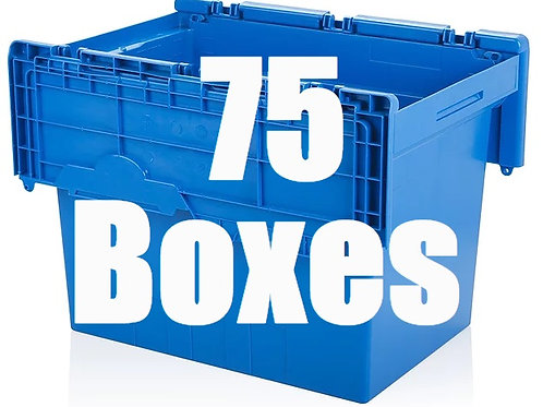 4 Bedroom Package Includes 75 Boxes.