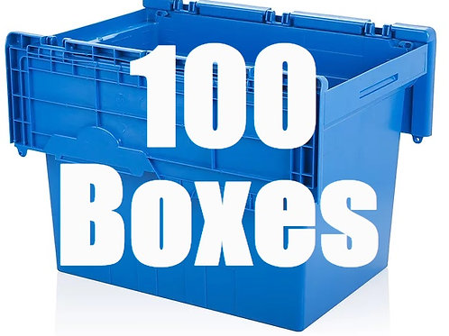5 Bedroom Package Includes 100 Boxes.
