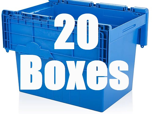 Studio Package Includes 20 Boxes.