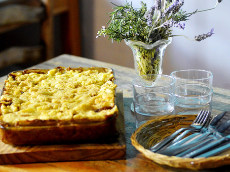 Curry lentils Sheppards Pie