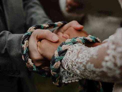 Handfasting Ceremonies Are Seriously Pop