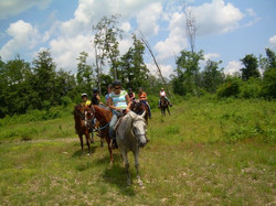 Trail Ride at Queen Overlook