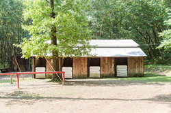 Hitching Post by Rental Barn