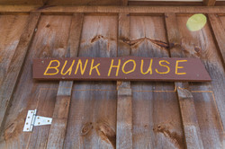 Bunk House Sign
