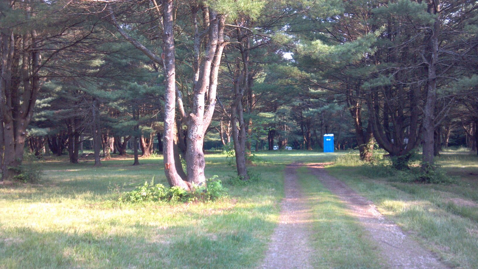 Primitive Camping Area