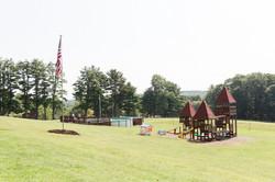 Playground area near Shower House