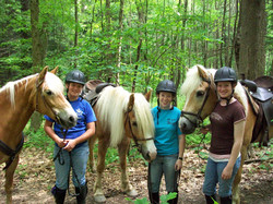 Guests on a Trail Ride
