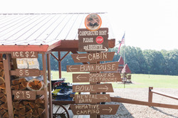 Directional Sign at Our Ranch House