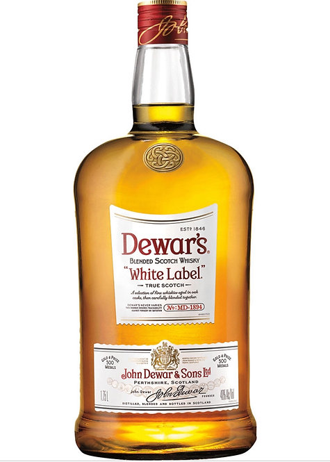 DEWARS WHITE LABEL SCOTCH -  1.75L