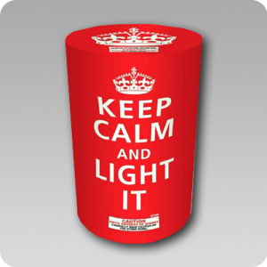 Keep Calm & Light It