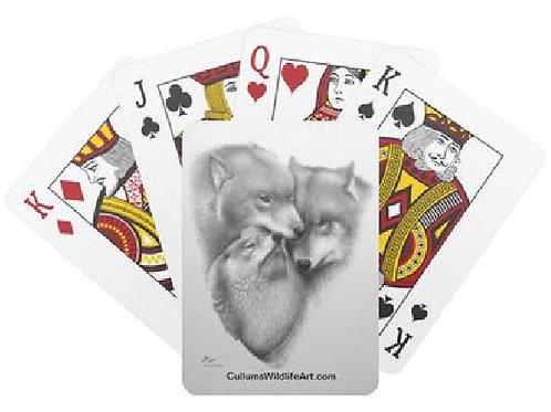 WOLF TRIAD CARDS (POKER CARDS)
