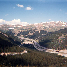 Mountains in Colorado Ride