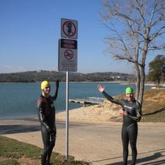 Swim WKO at Boerne Lake