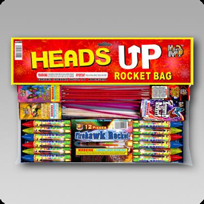 Heads Up Rocket Bag Assortment