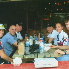 Lunch After a Team Attitude Ride