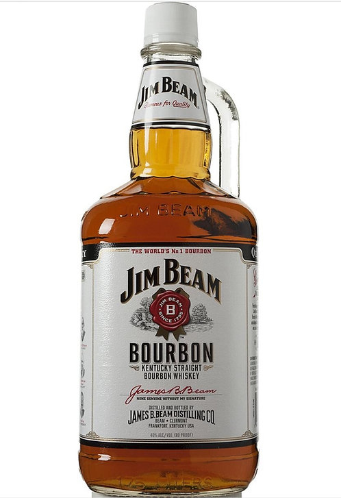 JIM BEAM BOURBON -  1.75L