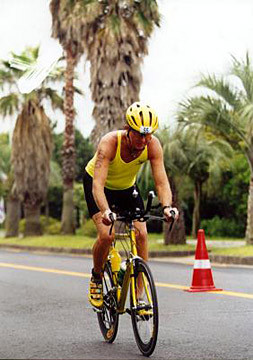Bike at IM Korea 2001