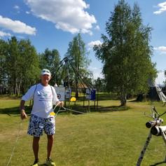 Swedish Calf Roping on a Tour