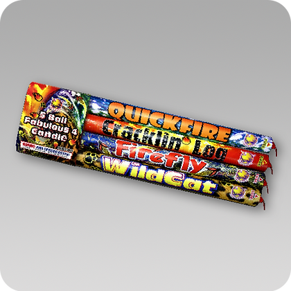 5 Ball Roman Candle Assorted