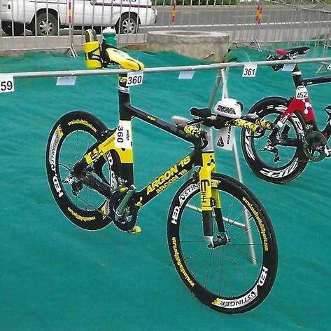 T1 Bike Rack at IM China